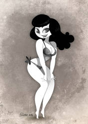 Bettie Page by Sorente