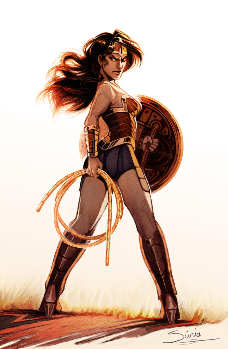 Wonder Woman Trinquette