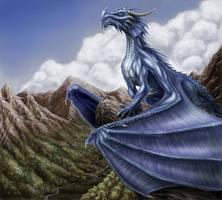 Majestic Blue by AndrewDobell