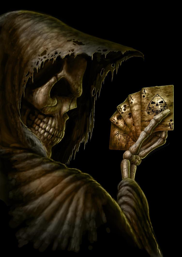 Dead Mans Hand by AndrewDobell