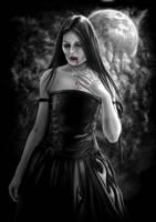 Vampire Girl by AndrewDobell