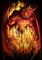 Satan by AndrewDobell