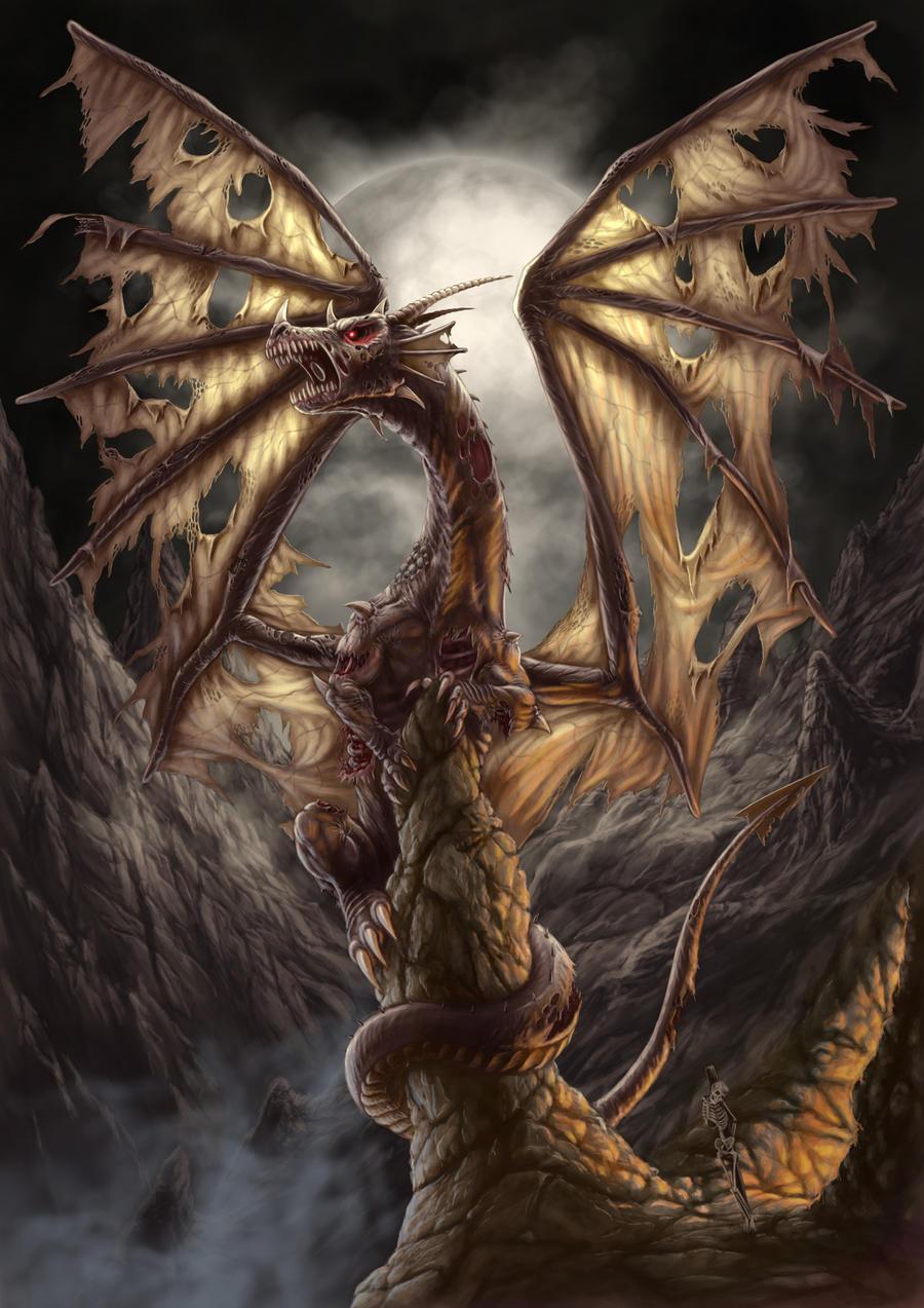 Zombie Dragon By AndrewDobell On DeviantArt