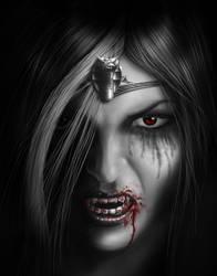 Serpent Queen by AndrewDobell