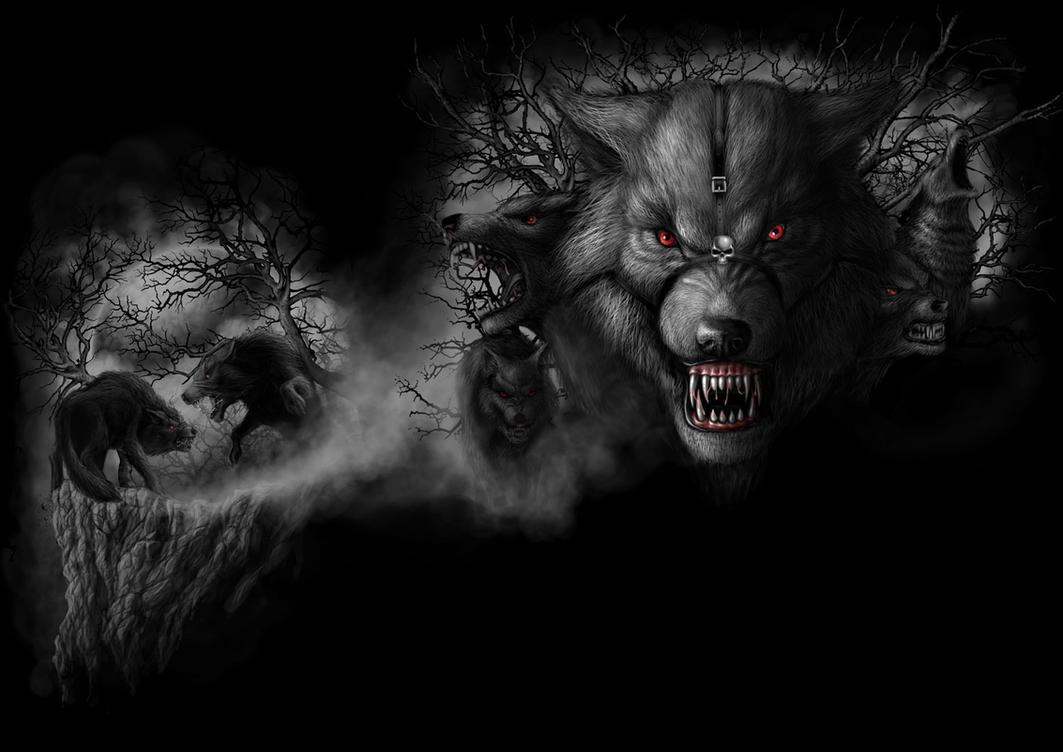 Wolf Pack By Andrewdobell On Deviantart