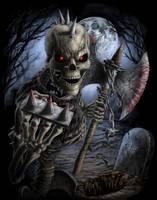 Axe Akeleton by AndrewDobell