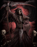 Red Reaper by AndrewDobell