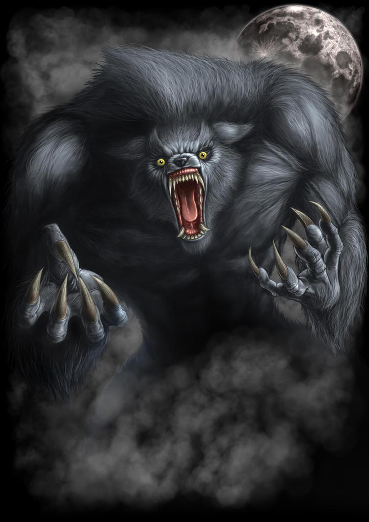 Werewolf fucks 3d babe sexy movie