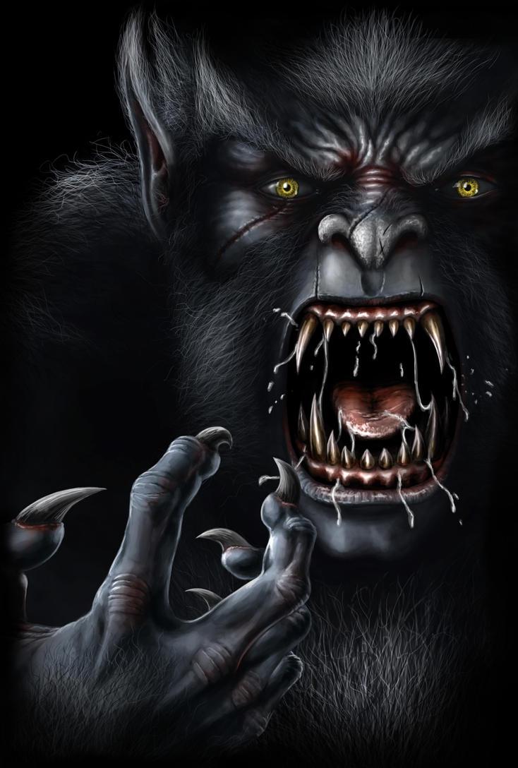 Werewolf Face by AndrewDobell on DeviantArt