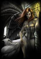 Gothic Angel by AndrewDobell