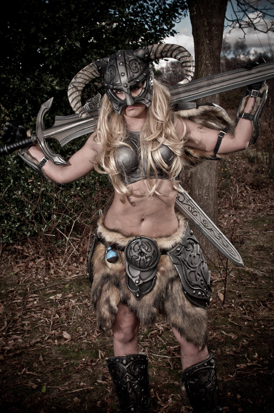 Skyrim Barbie 3 - Great Sword by AndrewDobell