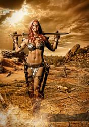 Red Sonja by AndrewDobell