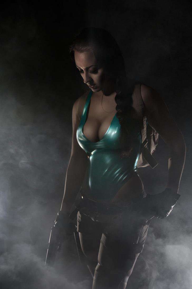 Lara Croft - Retouched version by AndrewDobell
