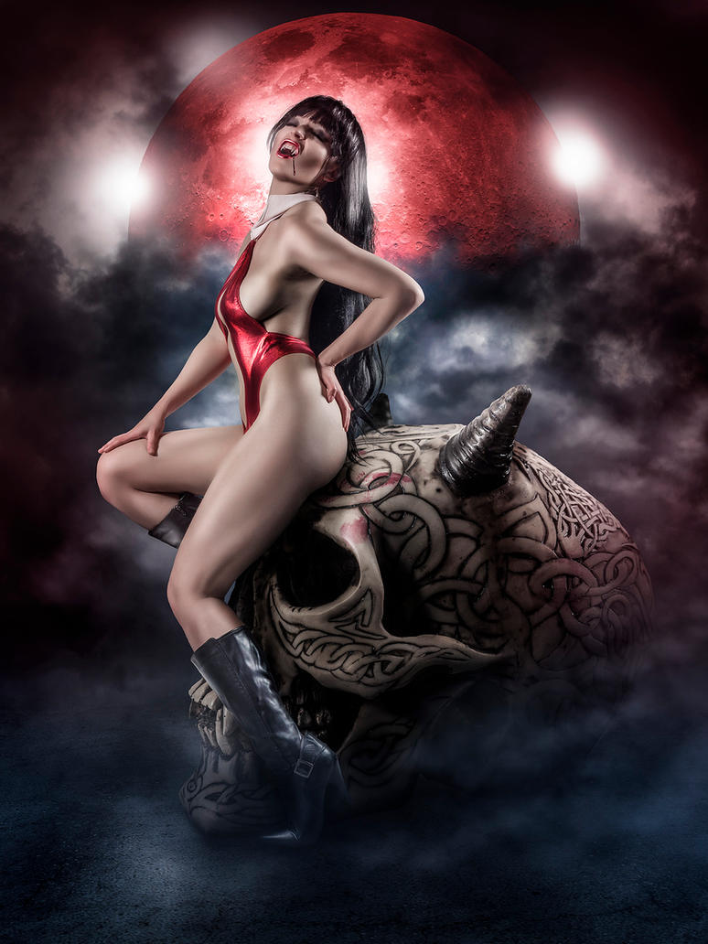 Blood Moon by AndrewDobell
