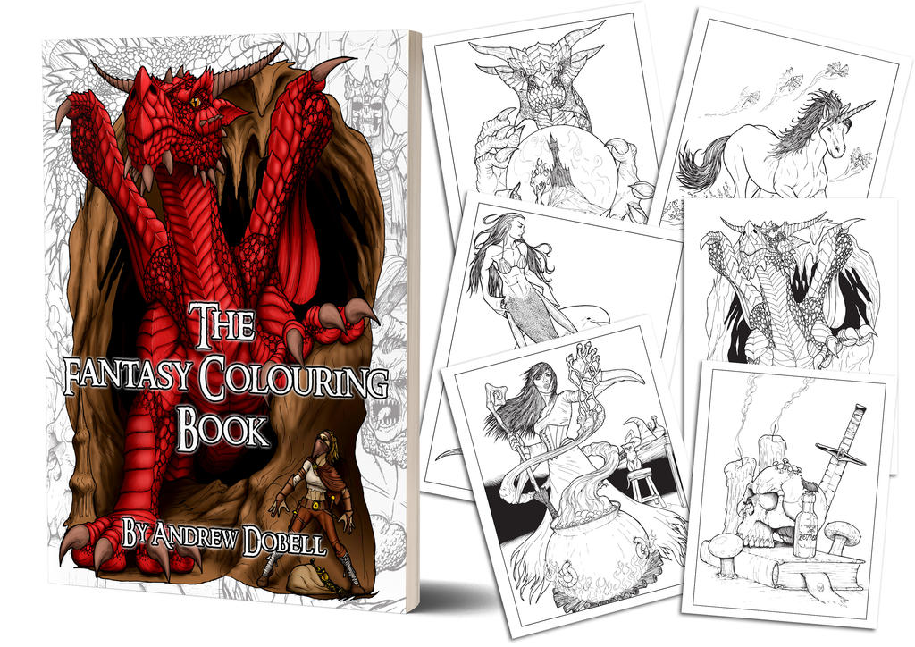 Colouring Book by AndrewDobell