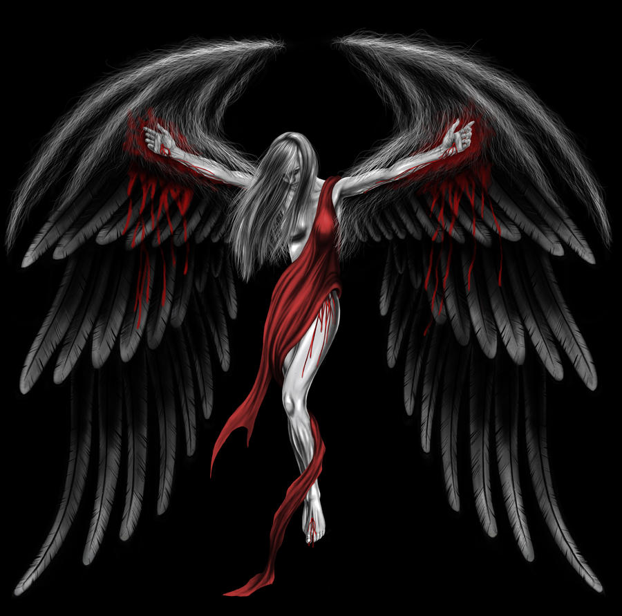 Gothic wings by andrewdobell on deviantart - Gothic fallen angel pictures ...