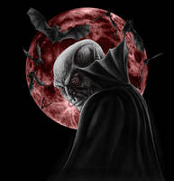 Vampire Moon by AndrewDobell