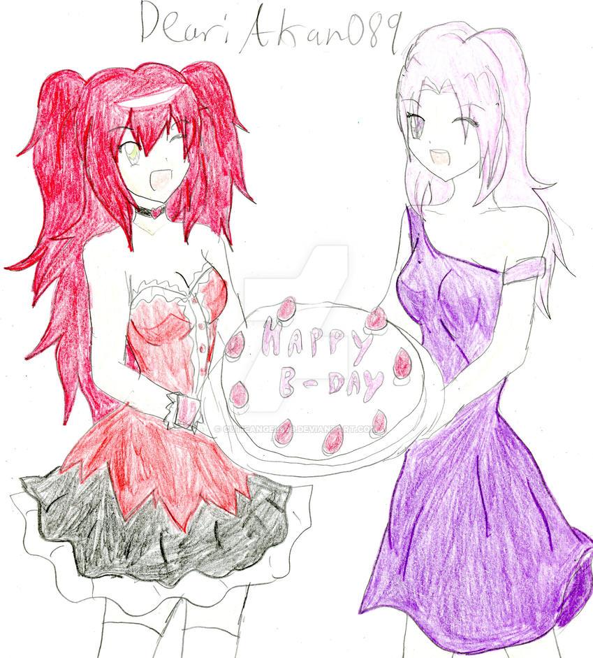 Birthday Gift for Akane089 by CutieAngel999