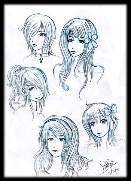 Girl Hairstyles By Alwizhyper
