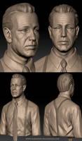 Humphrey Bogart Sculpt