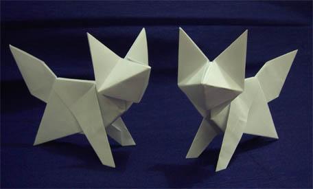 Origami Fox Ily 3d Model By Caturegli David Copycatdesign