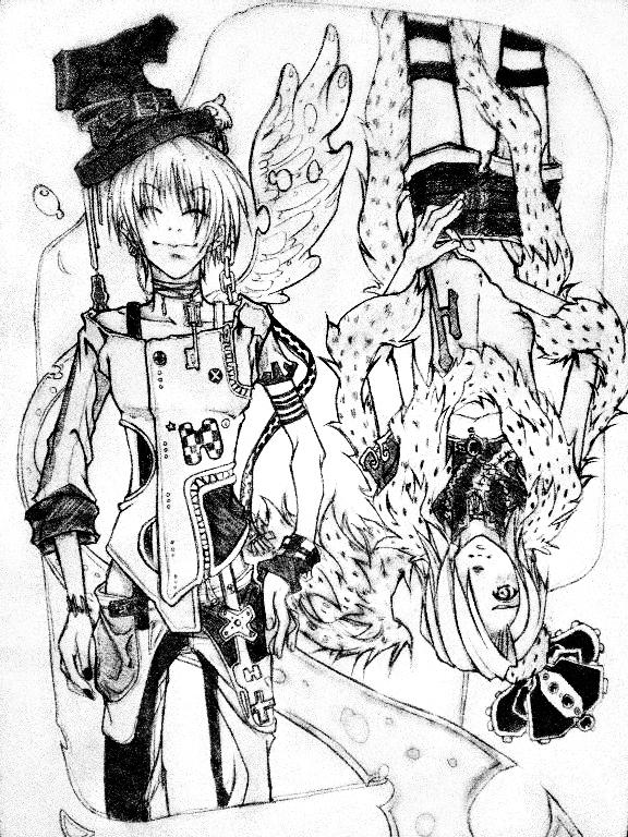 GinKira- The King and Joker by miyavihoney