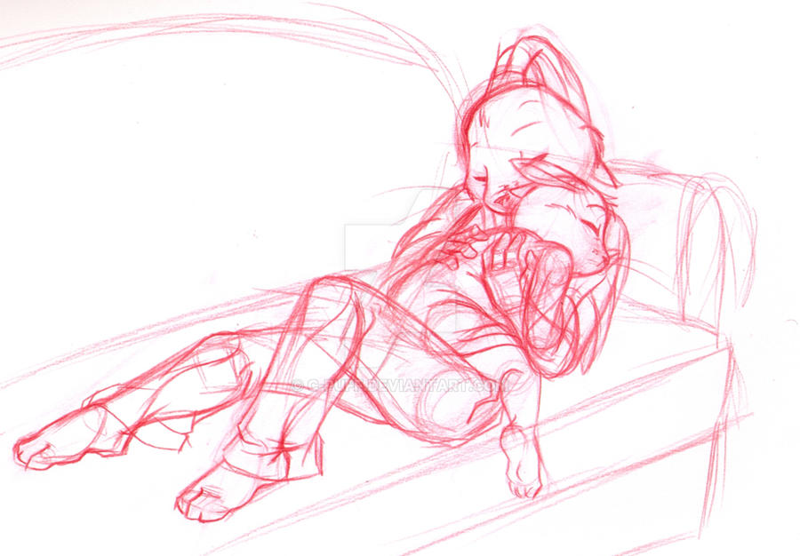 Safely home sketch by C-Puff