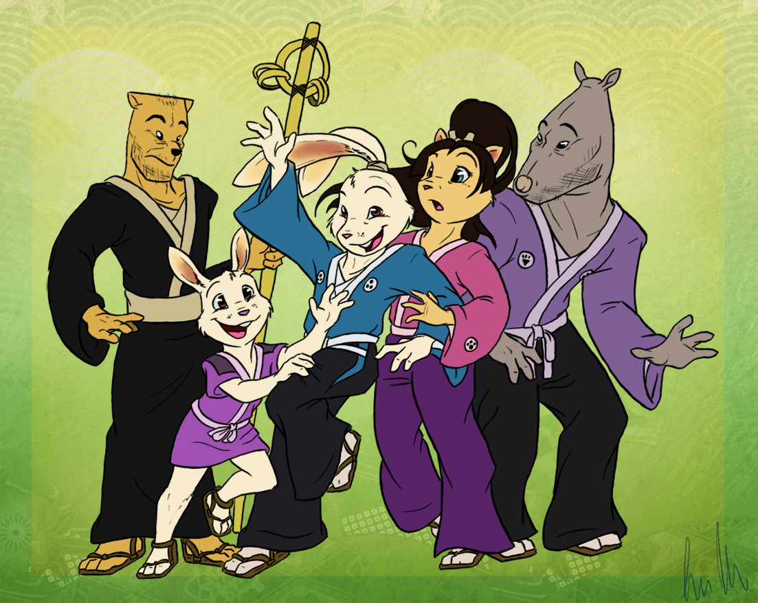 Usagi's Family by C-Puff