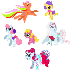 C-Puff's Ponies: Year 8, 9 and 10 by C-Puff