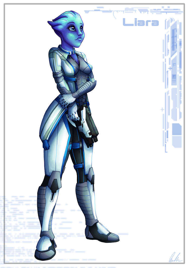 Liara by C-Puff