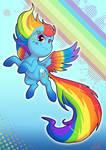 Rainbow Powered Dash