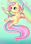 Rainbow Powered Fluttershy