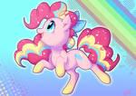 Rainbow Powered Pinkie