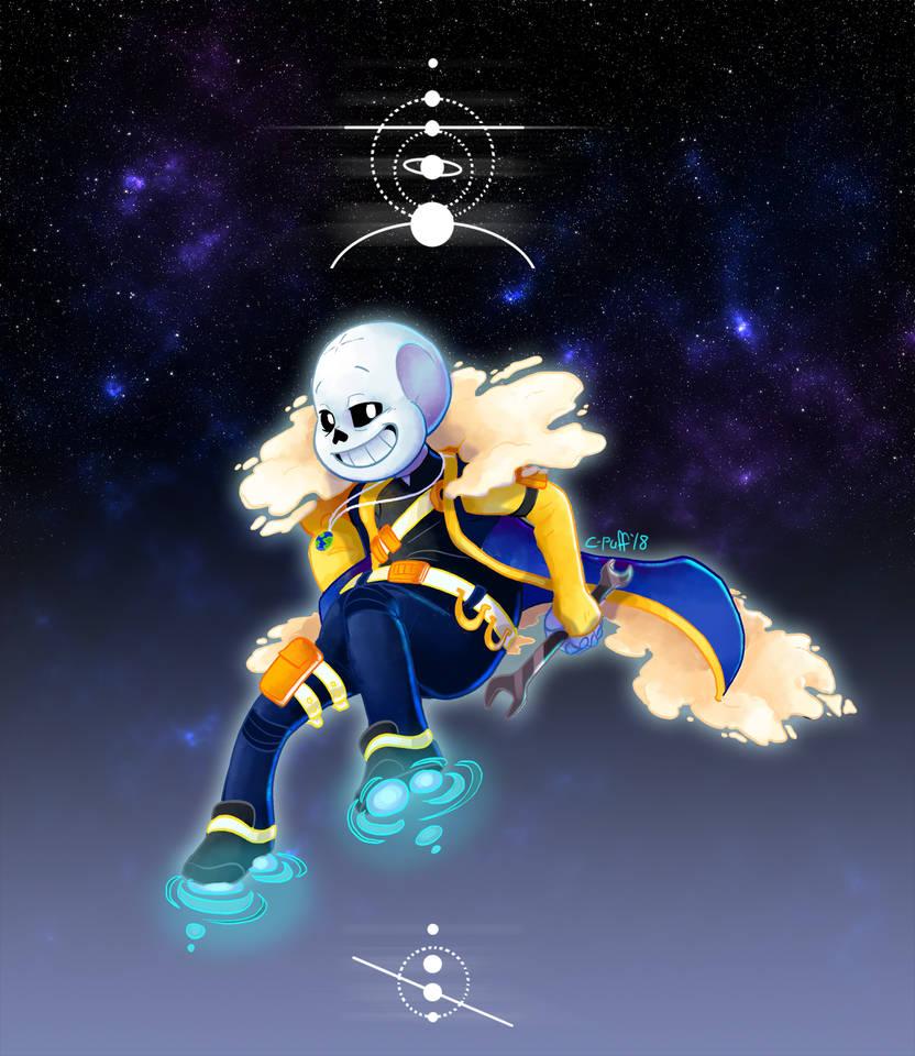 Sad Space Nerd in Space