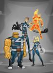 Fantastic Four Redesign