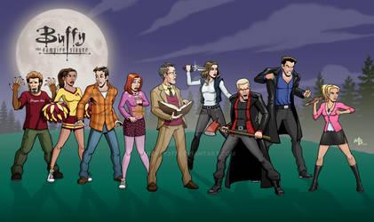 Buffy Cast [High School Era]