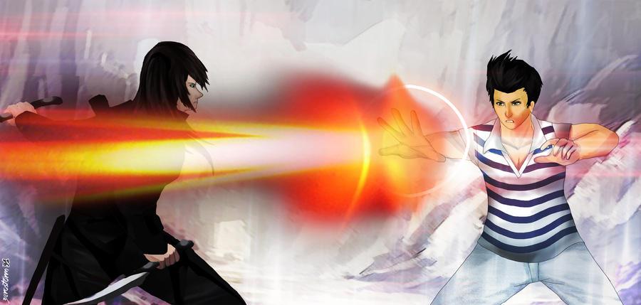 lens flare attackk by zerostorm91