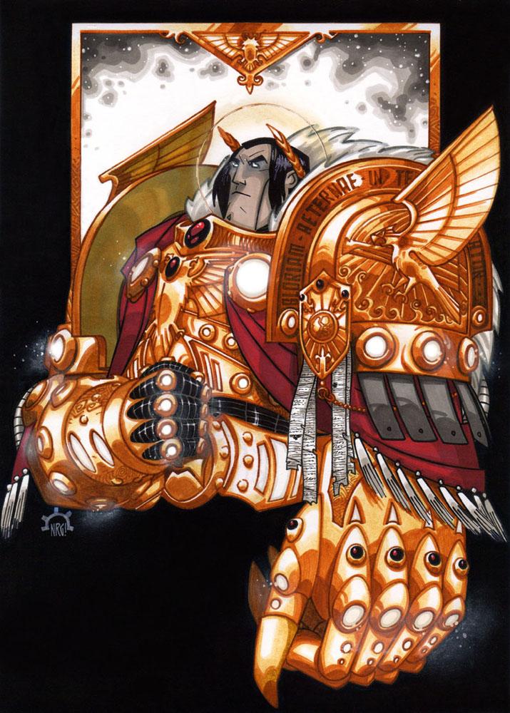 [W30K] L'Empereur de l'Humanité / The Emperor of Mankind 46231a85035f9c614e1056b38afb42b4