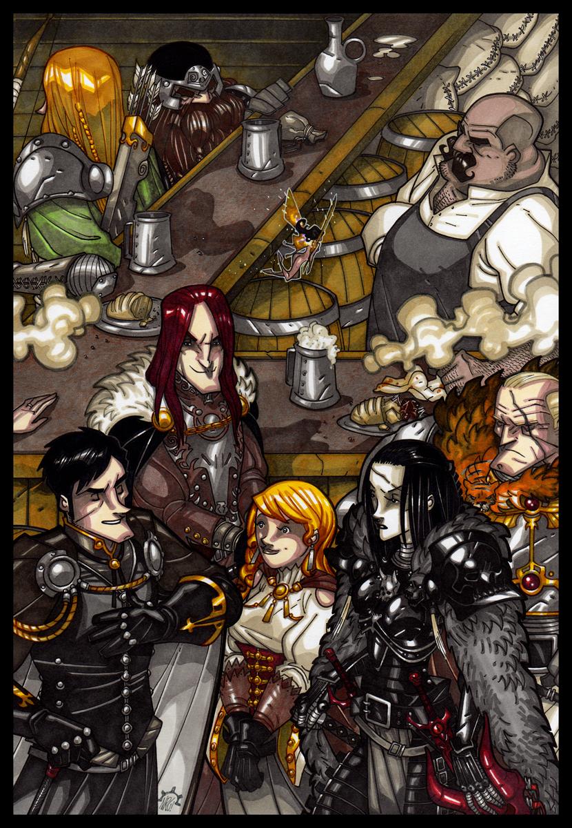 The Gathering by NicolasRGiacondino