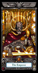 Imperial Tarot - The Emperor by NicolasRGiacondino