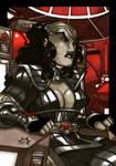 MiniMasterpieces - Klingon Warrioress