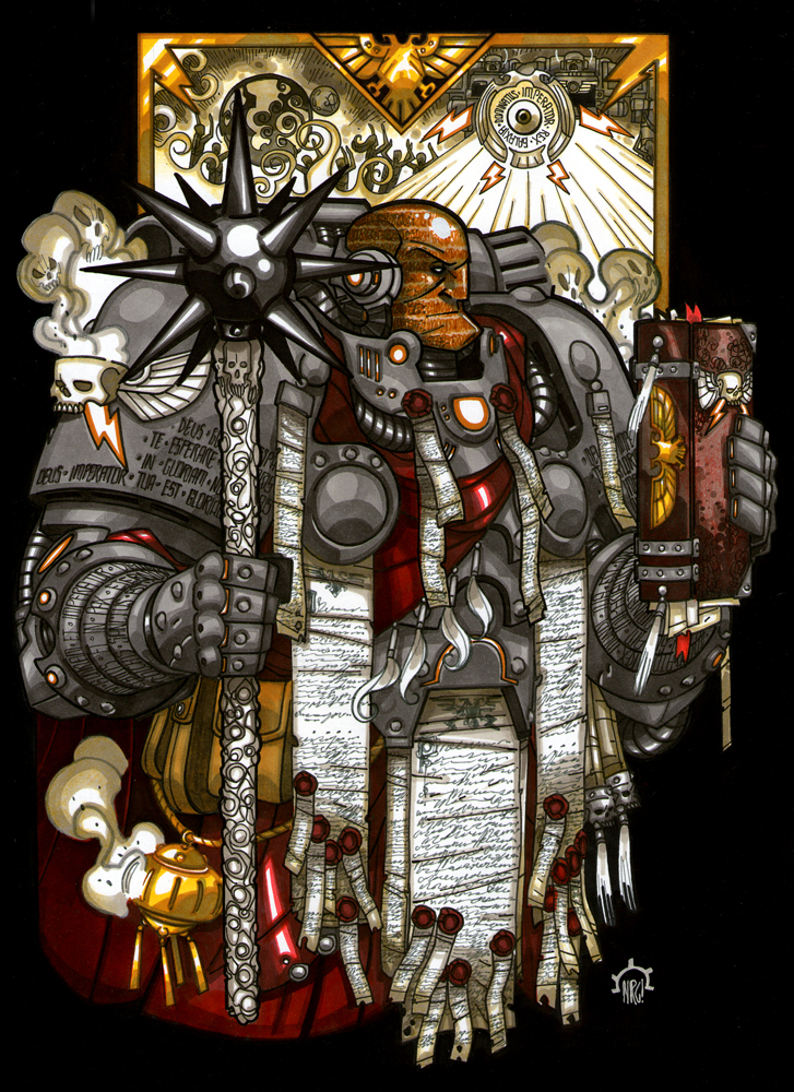 Visions of Warhammer 40K by Aerion the Faithful - Page 2 D5696220639bb2f0d7524c06466def46-d5kjarn