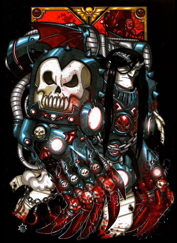 Visions of Warhammer 40K by Aerion the Faithful - Page 2 3f082c662369f1b044e5b8aac27ff55d-d5kwivn