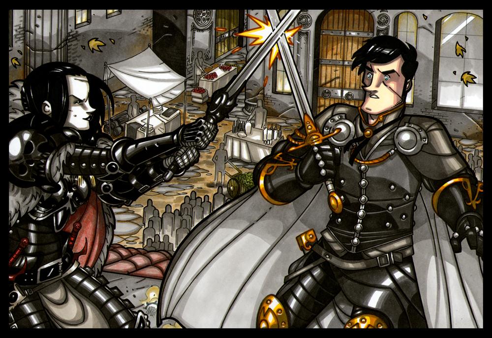 Dangerous Games by NicolasRGiacondino