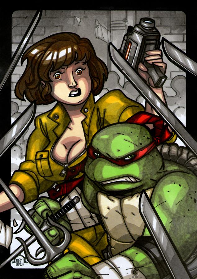 Turtle Power! by NicolasRGiacondino