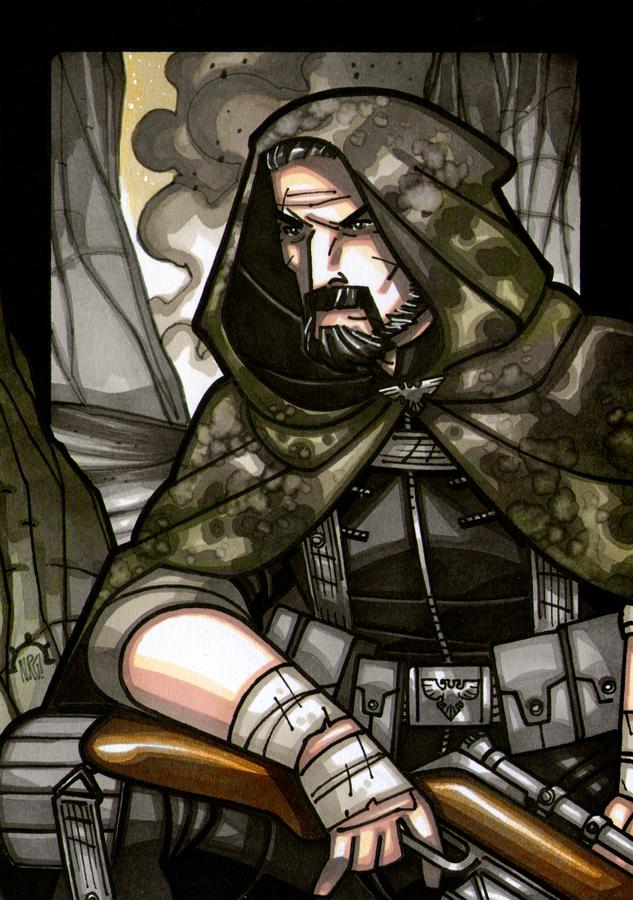 GHOSTMAKER - Sergeant Oan Mkoll by NicolasRGiacondino