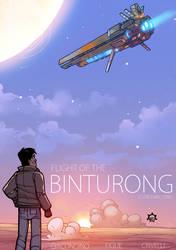 Flight of the Binturong by NicolasRGiacondino
