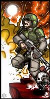 EMPEROR'S TAROT - The Guardsman