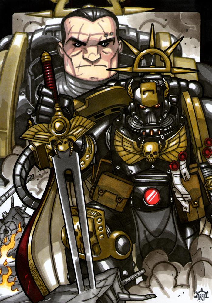 Captain Baraxis Korius by Aerion-the-Faithful