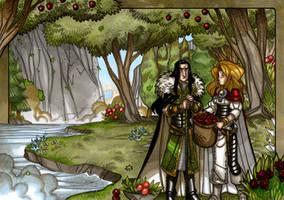 LEGENDS: Idunna's Enchanted Apples - The Garden